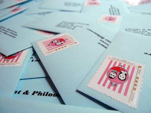 mme - Timbres Personnaliss Mariage