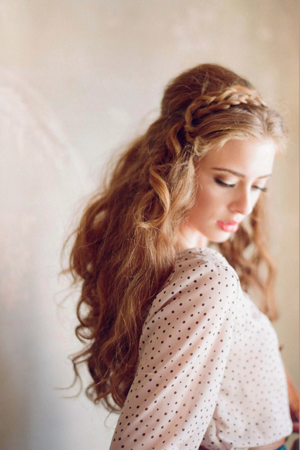 coiffure femme 30 ans, coiffure cheveux long chic, coiffure mariage