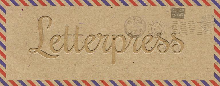 """DIY – L'effet """"letterpress"""" sur Photoshop"""