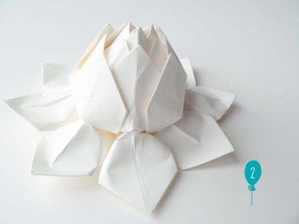 origami romantique facile