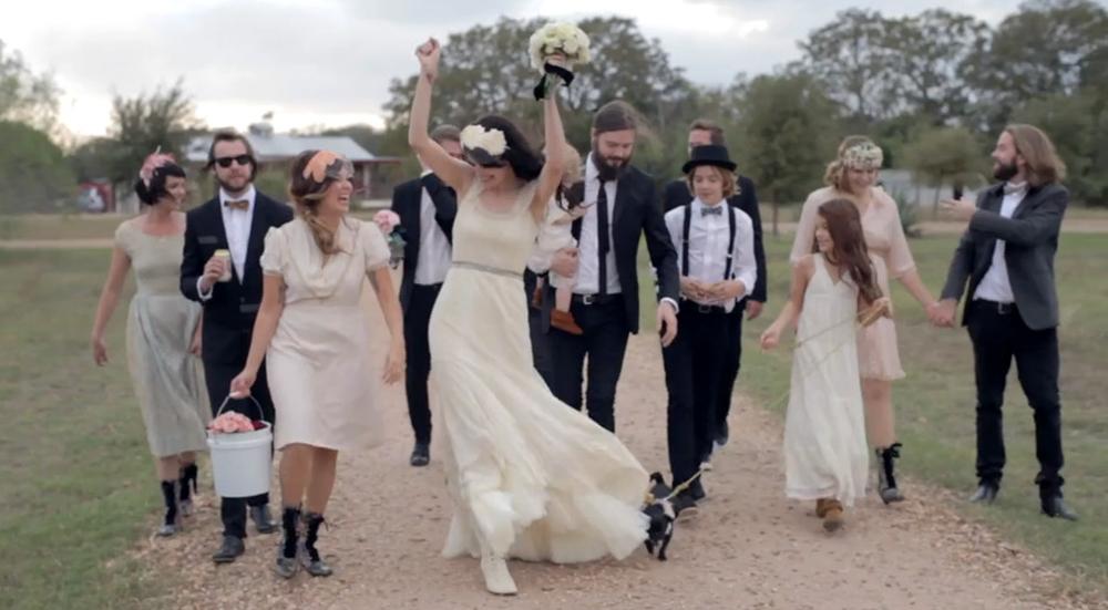 Vid o de mariage blog mariage mariage original pacs d co - Mariage cool et chic ...