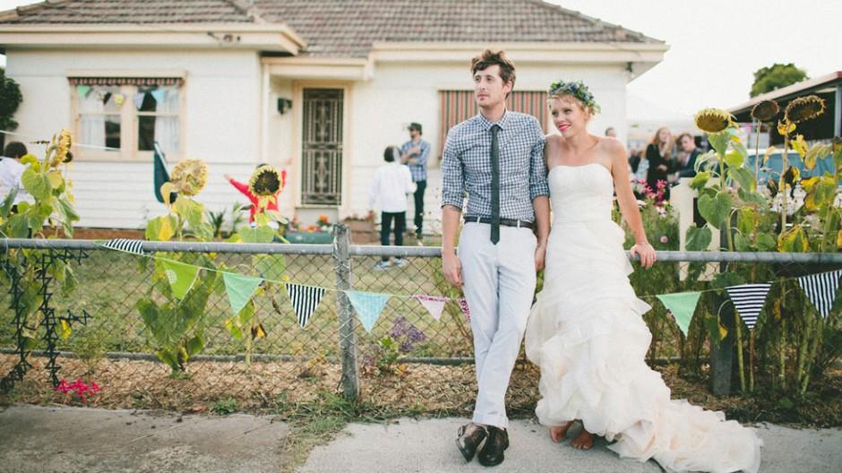 Mariage à la maison | Blog mariage, Mariage original, pacs, déco