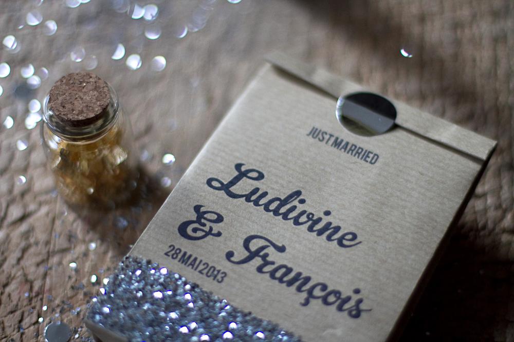 diy sachets de papier kraft blog mariage mariage. Black Bedroom Furniture Sets. Home Design Ideas