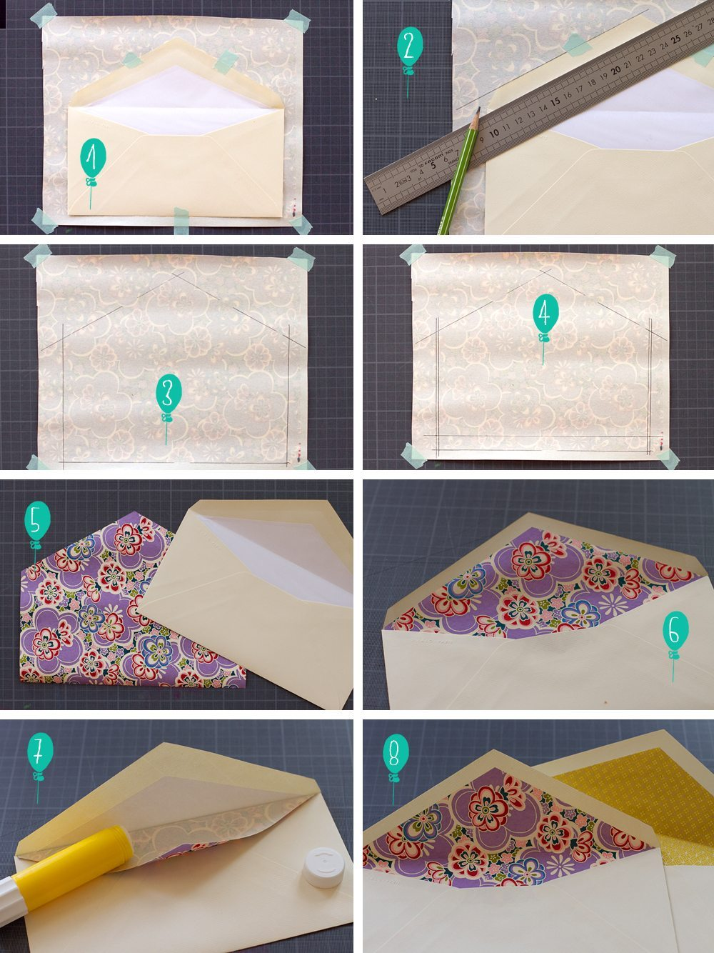 diy les enveloppes graaaand luxe blog mariage mariage original pacs d co. Black Bedroom Furniture Sets. Home Design Ideas