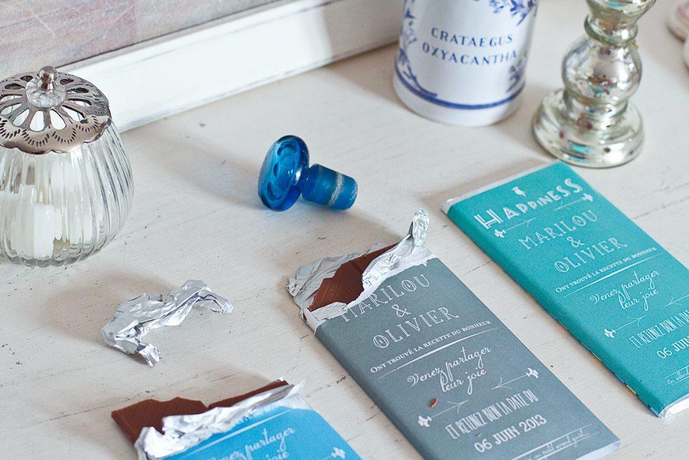 Favorit DIY – Save the date au chocolat | Blog mariage, Mariage original  TV42