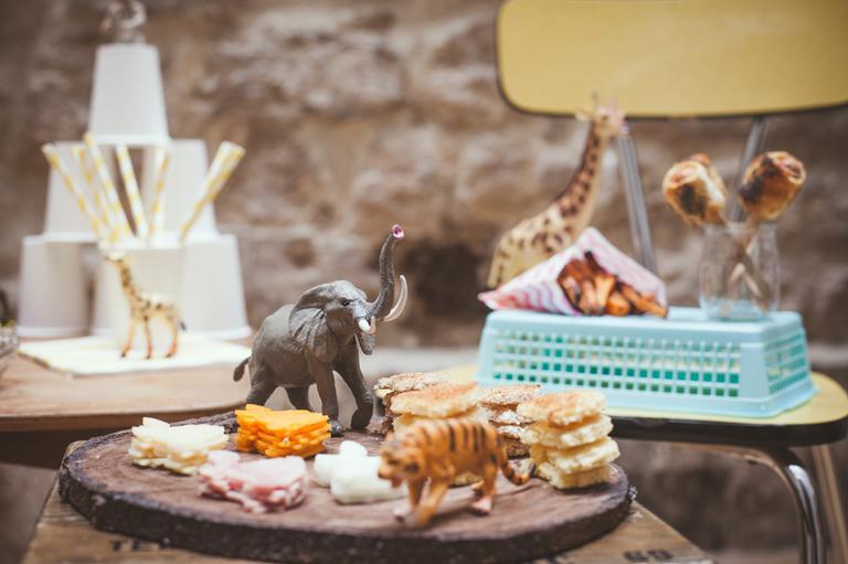 Un buffet pour les enfants