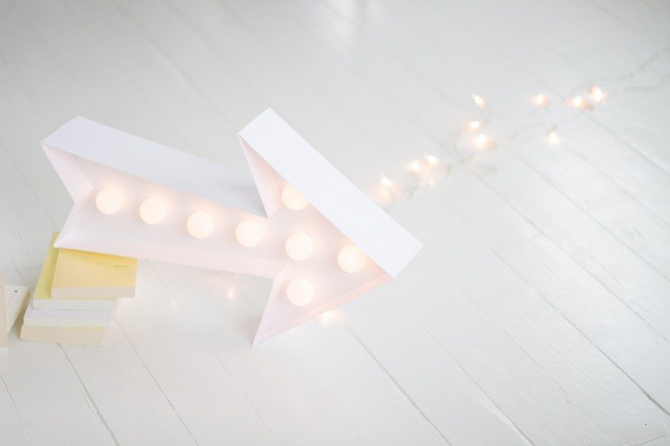 Une enseigne lumineuse blog mariage mariage original pacs d co - Comment faire une enseigne lumineuse ...