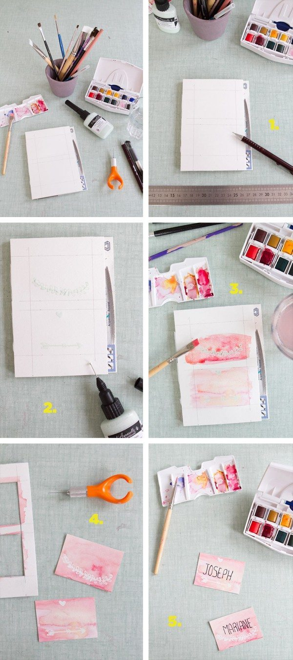 DIY-marque-place-aquarelle-howto