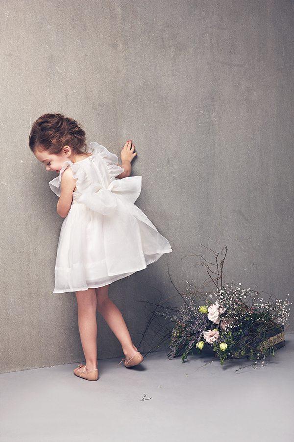 mae dress in White