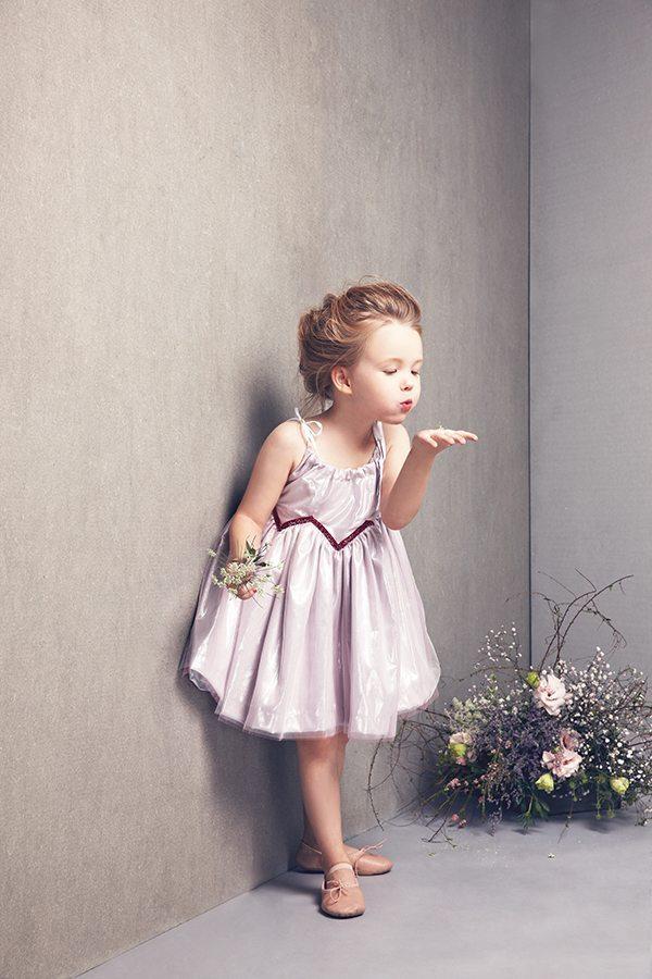 mimi dress in OrchidIce:Silver