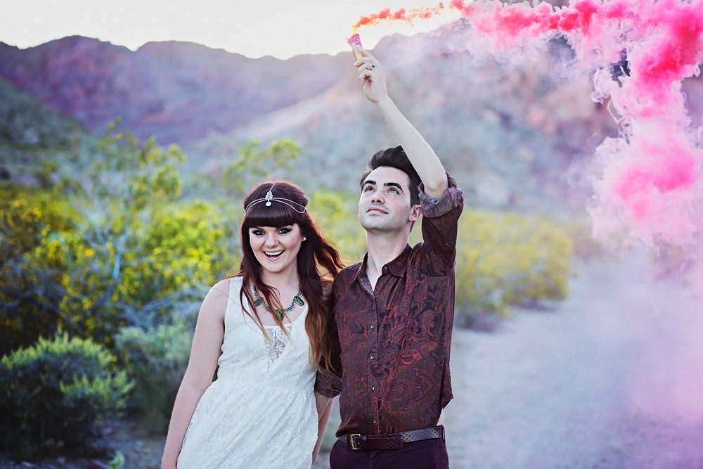 Floriane & Claude à Las Vegas