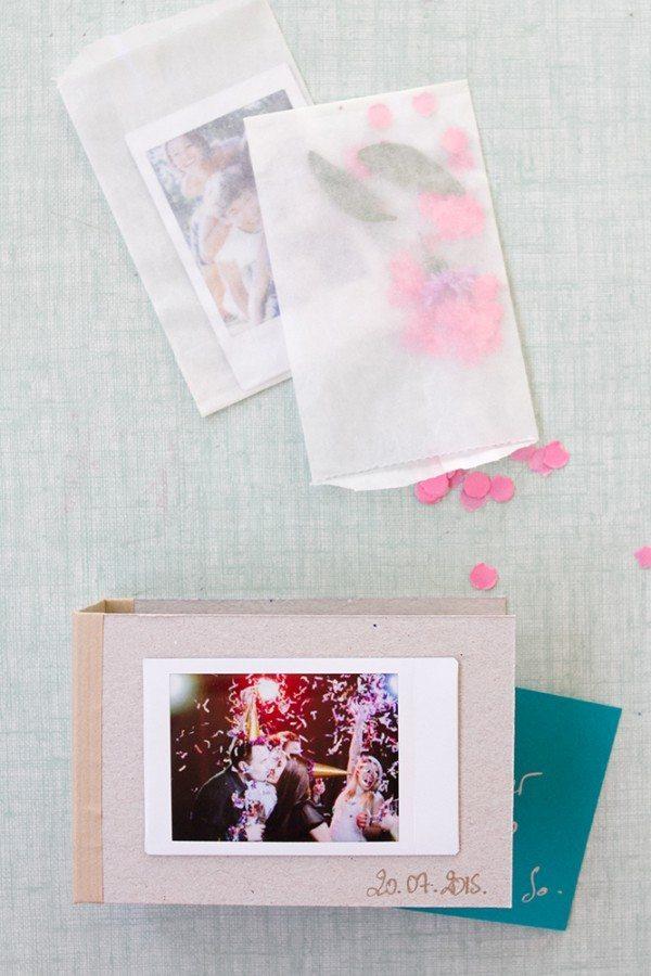 diy mini photo album blog mariage mariage original pacs d co. Black Bedroom Furniture Sets. Home Design Ideas