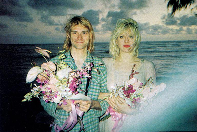 Mariage célèbre : Kurt Cobain & Courtney Love
