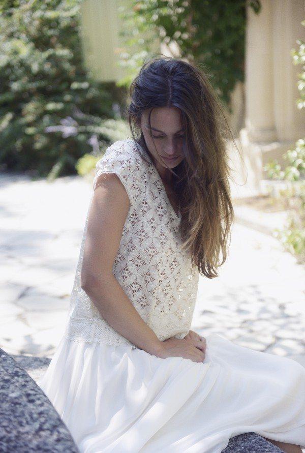 Christina Sfez - Top Georgia jupe Luce
