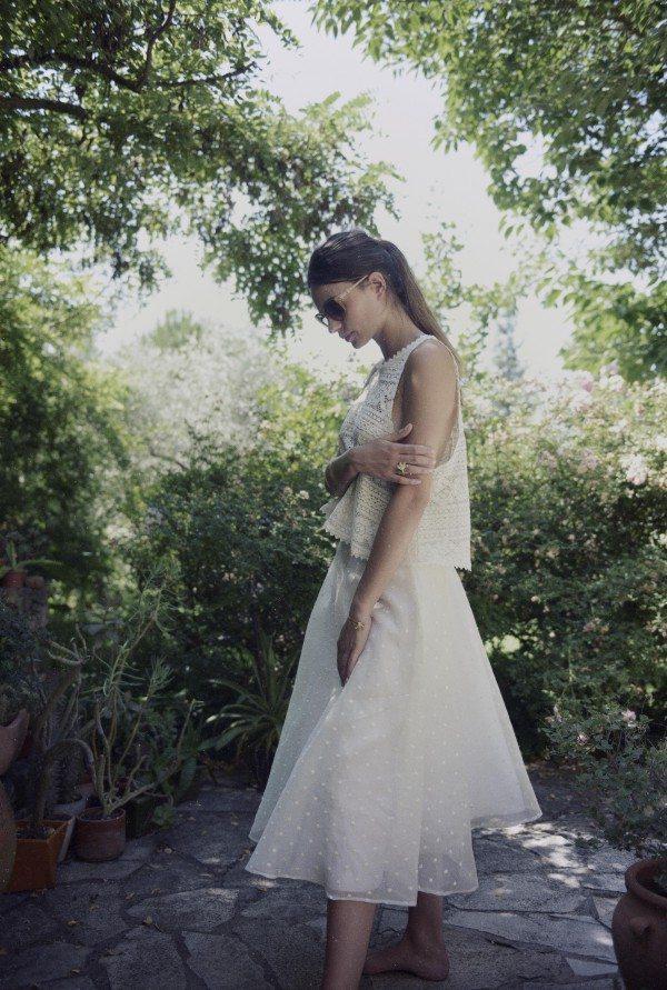 Christina Sfez - Top Odette Jupe Elia