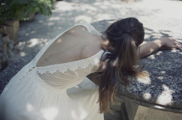 Christina Sfez - robe Madeleine dos