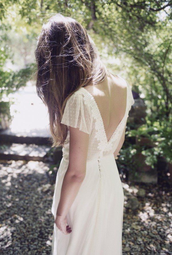 Christina Sfez - robe Salomé dos