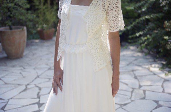 Christina Sfez - robe Victoire Veste Jessie