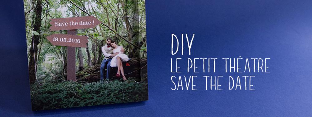 Le petit théâtre «save the date»