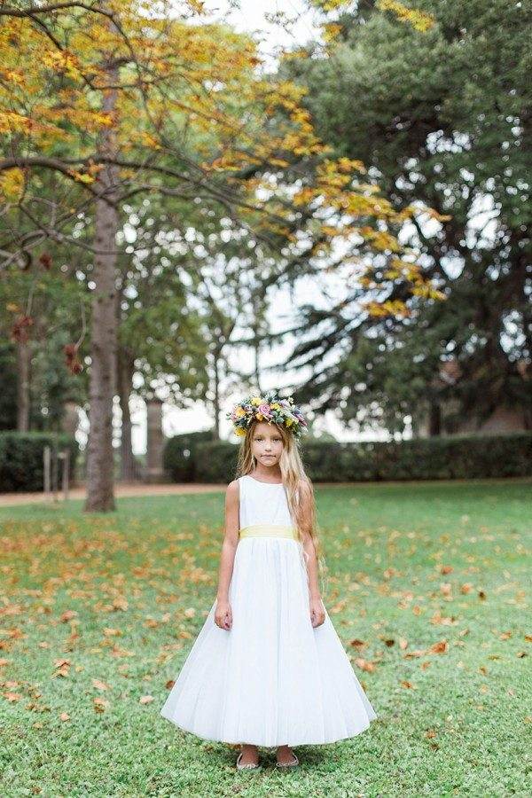 Robe Louise ceinture jaune pale1