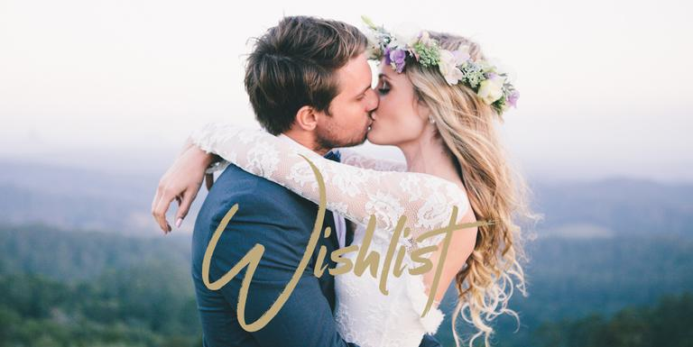 La liste de mariage