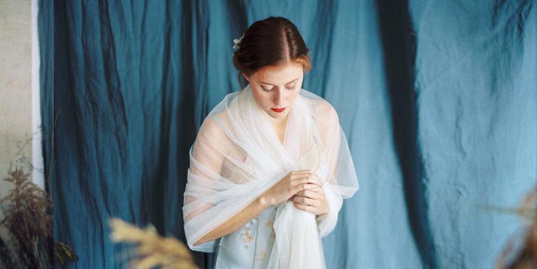 Une mariée rêveuse