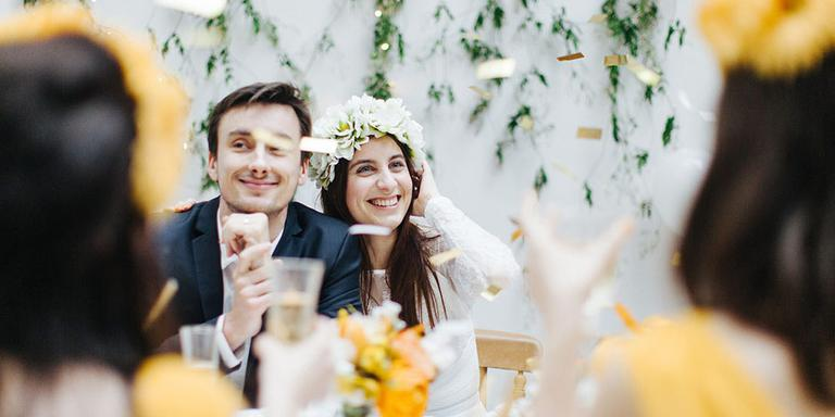 Un mariage couleur du soleil