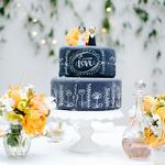 Le crash test du Chalkboard Wedding Cake !