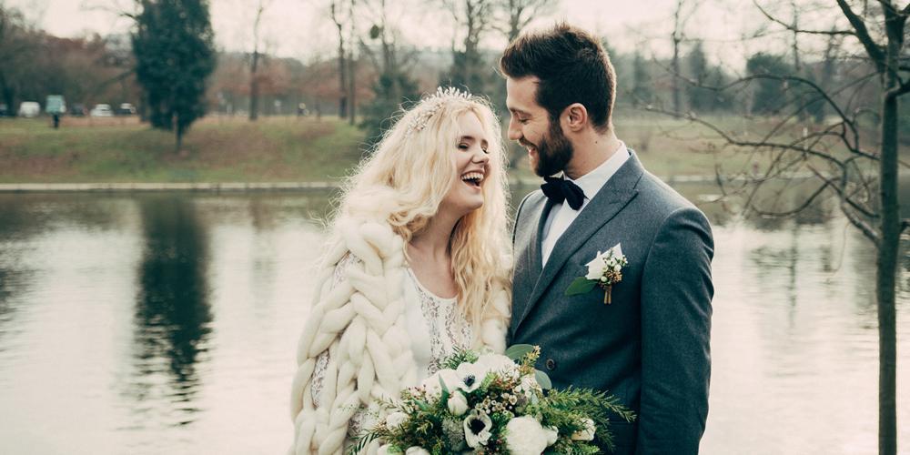 Choisir l'hiver pour un mariage de conte de fée