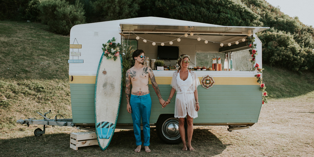 Idées pour un mariage les pieds dans l'eau