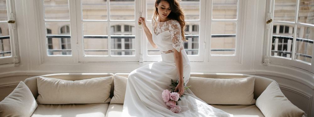 Sophie Sarfati : sa collection de robes de mariée 2018