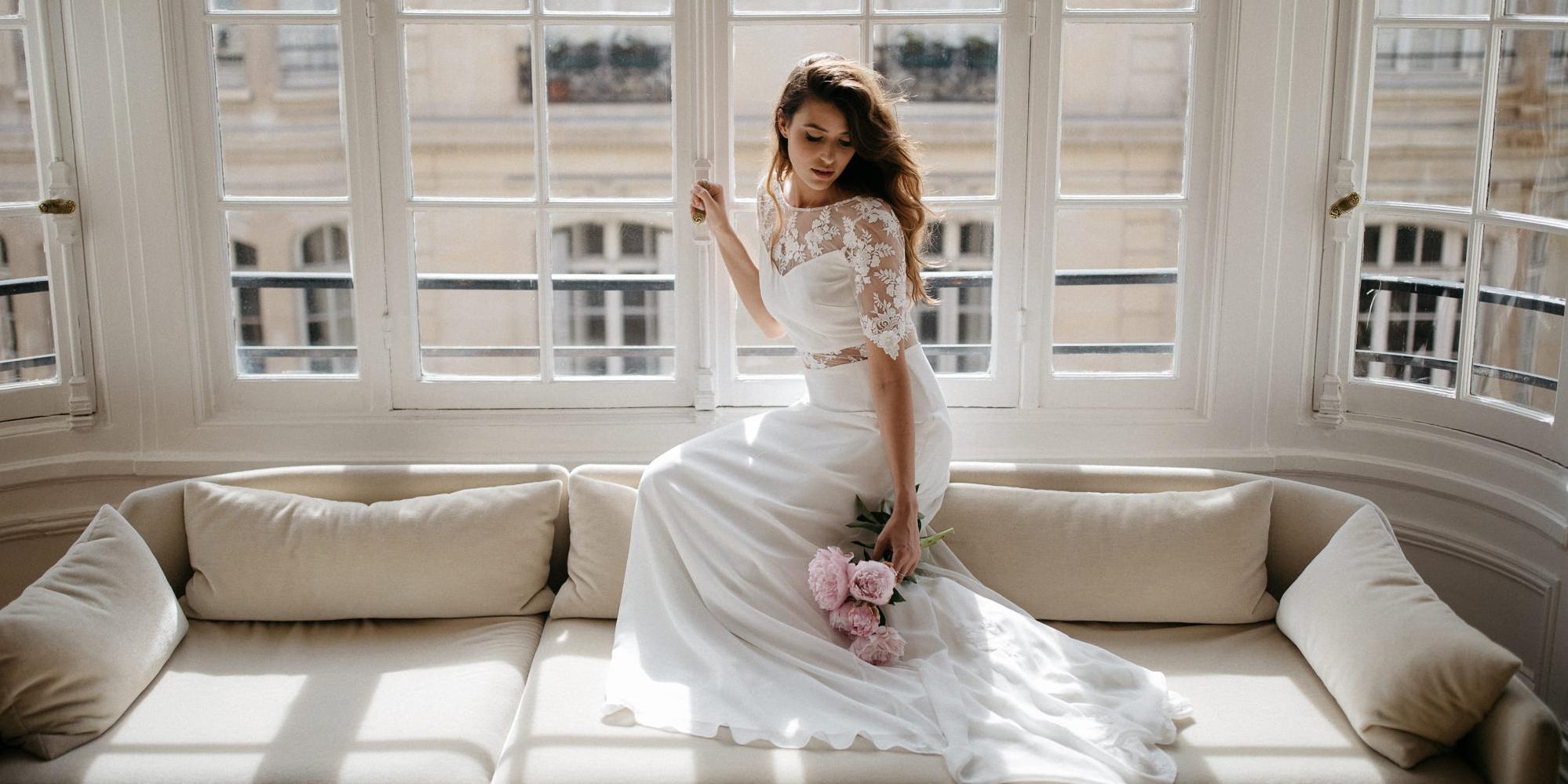 sophie sarfati sa collection de robes de mari e 2018 blog mariage mariage original pacs d co. Black Bedroom Furniture Sets. Home Design Ideas