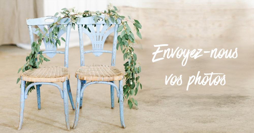 Partager des photos de mariage : photographe