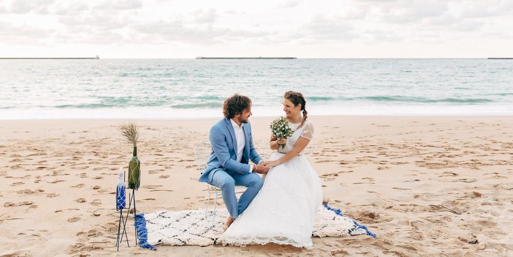 D coration un mariage simple et romantique sur la plage blog mariage mariage original pacs - Mariage simple et original ...