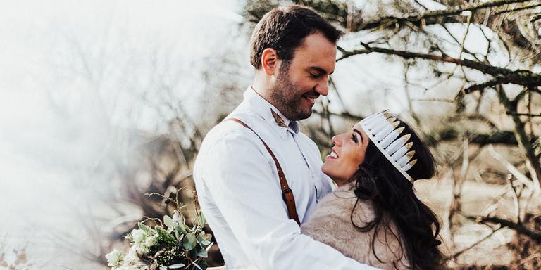 Une décoration de mariage automnale