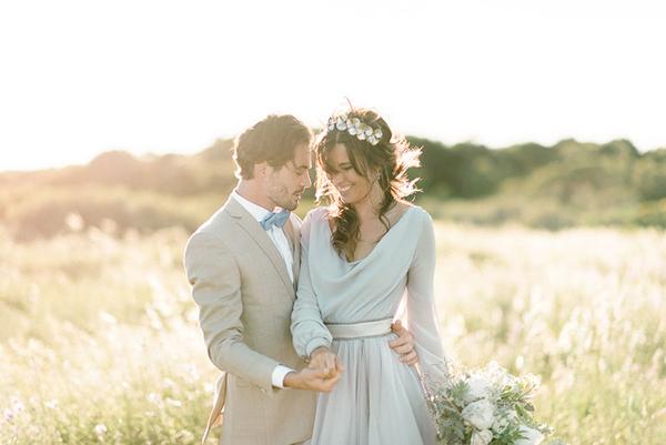 Connu Français) Un mariage bleu au bord de l'eau | Blog mariage, Mariage  UT02
