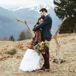 (Français) Un mariage bohème en hiver