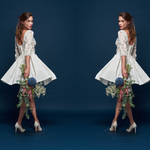 (Français) La collection de robe de mariée civile Maison Floret 2018