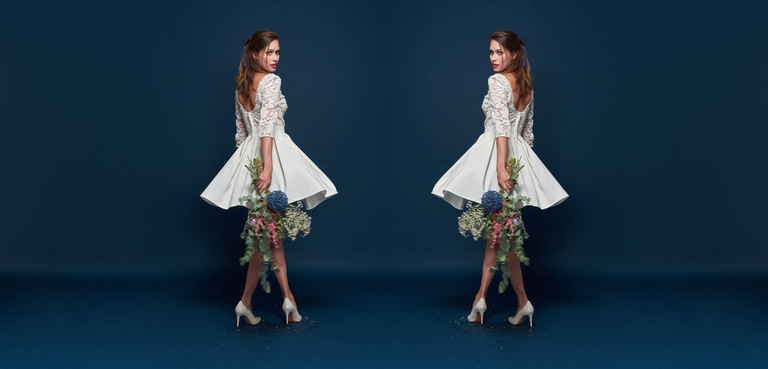 La collection de robe de mariée civile Maison Floret 2018