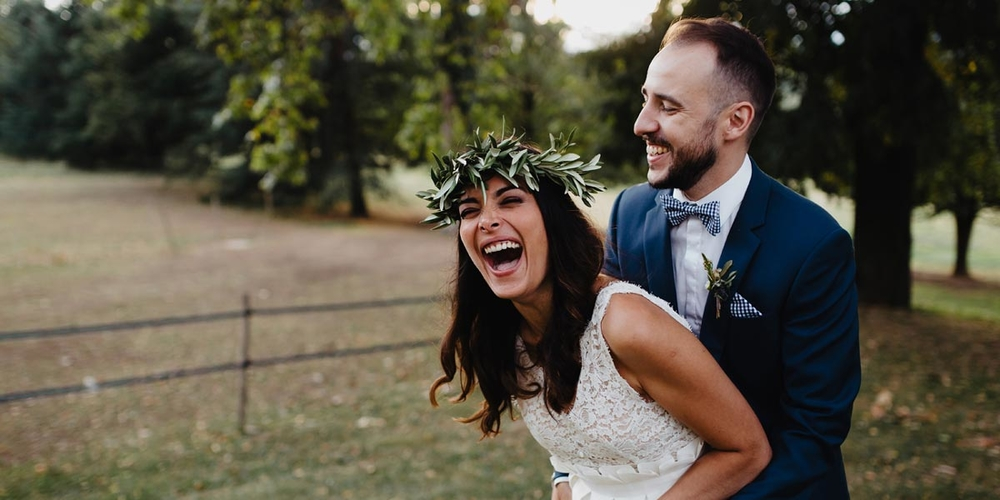 Elise & Morgan : un mariage rock'n'roll & chic dans la Drôme
