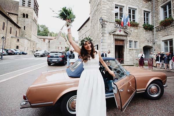 mariage rock & chic dans la Drôme