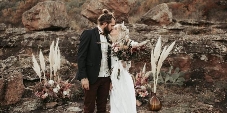 Un mariage folk en Provence