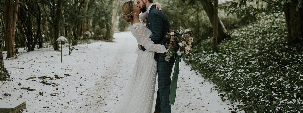 Mariage romantique & hivernal à Epernay