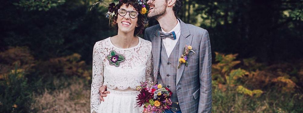 (Français) Marie & Grégory : un mariage créatif en Bretagne