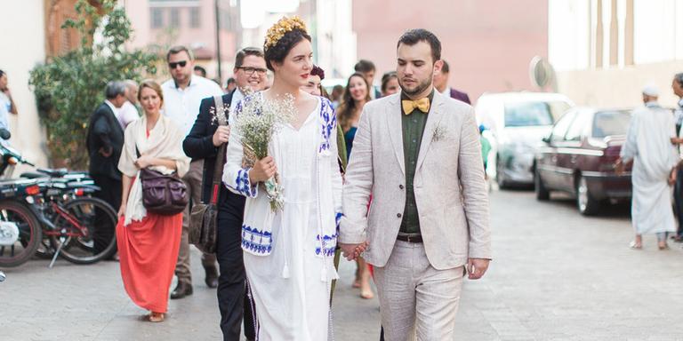 Féline & Arnaud : idée pour un mariage à Marrakech