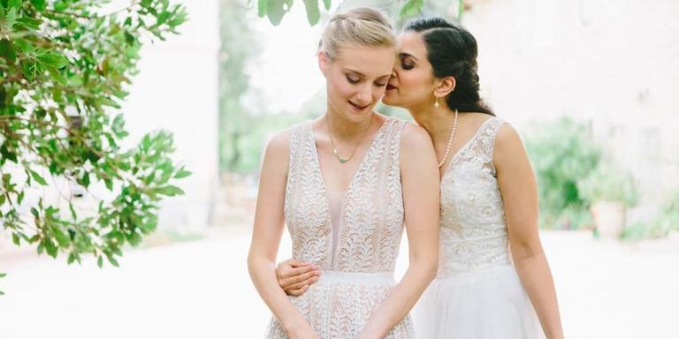 Nalini & Alexia : leur mariage romantique chic dans le Languedoc Roussillon