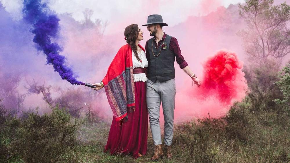 (Français) Idées pour un mariage bohème en Ardèche