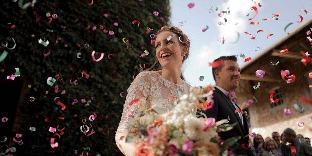(Français) Charlotte & Axel : idées pour un mariage champêtre en Normandie
