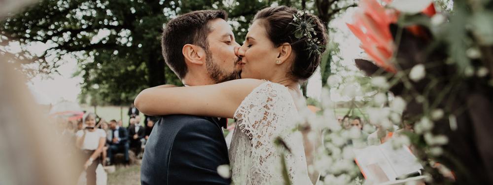(Français) Marine & Quentin : un mariage bohème en Pays de la Loire