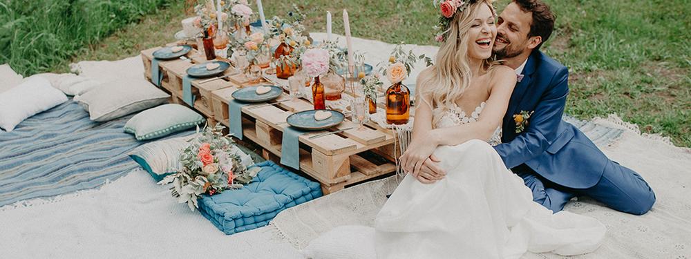 (Français) Idées pour un mariage bohème en pleine nature en région Centre